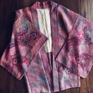 Jackets & Blazers - ❤️Vintage Silk Kimono Festival Boho Gypsy